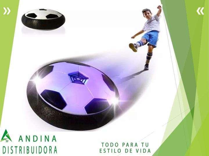 Pelota Disco De Fútbol Con Luz Led l Para Niños