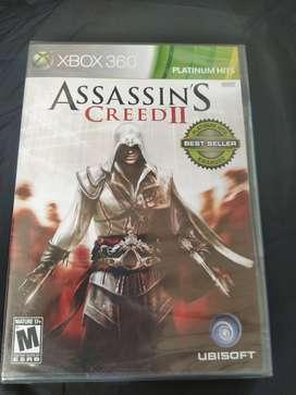 nuevo sellado Assassin's Creed 2 Xbox 360 Y Xbox One