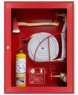 Gabinete incendios certificado