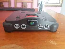 Nintendo 64 completo o se cambia por tarjeta de video o celular