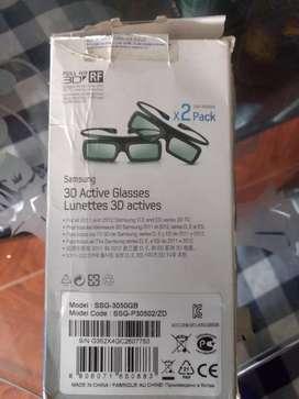 Gafas nuevas para televisoras 3D