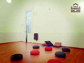 Alquiler de consultorios y salas para clases, seminarios, masaje tailandés