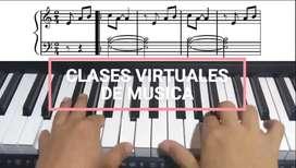 Clases de Música Virtuales