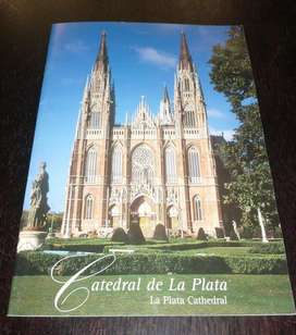 revista folleto CATEDRAL DE LA PLATA CATHEDRAL  ESPAÑOL E INGLES 2001