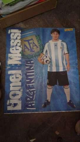 Poster De Messi Argentina - Tiki Tiki