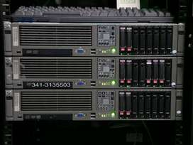 Servidor HP Proliant 380 G5 doble intel Xeon 5140  4gb ram