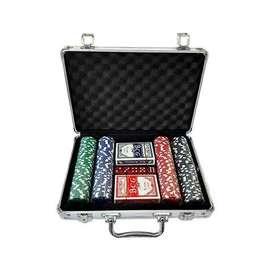 Juego de PokerSTAR SILVER  + Maletín 200 piezas