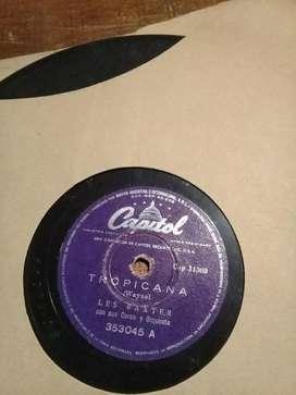 Disco de pasta 78 revoluciones Les Baxter