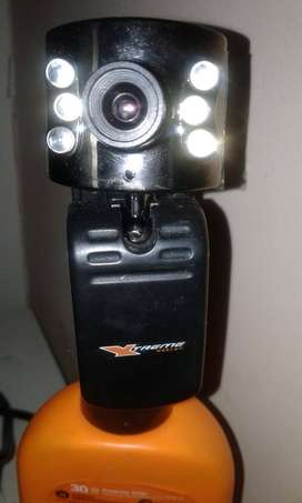 Webcam con 6 luces leds