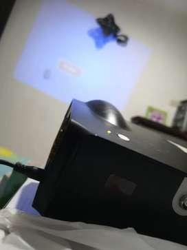 Ganga Video BEAM proyector nuevo, en caja con sus accesorios