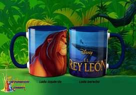 El Rey León Tazas Personalizadas/ Jarros Sublimados