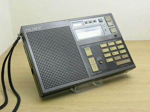RADIO SONY MULTIBANDAS MADE IN JAPÓN DIGITAL ÚNICO 0