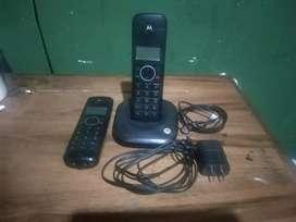 Hermoso teléfono inalambrico