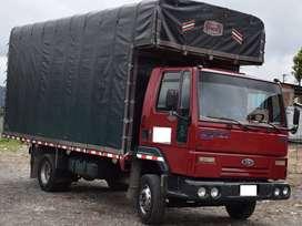 Ford cargo 815 mod.2007 con capacidad de carga en buen volumen