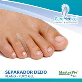 Separador Dedo Plano Gel - Masterpie - Ortopedia Care Medical