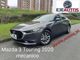 Vendo Mazda 3 Touring 2.0 mecanico 2020