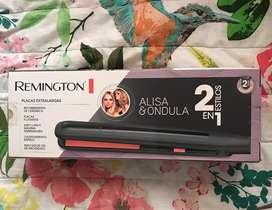 Vendo Plancha NUEVA y ORIGINAL!* Remington Alisa & Ondula 2 en 1