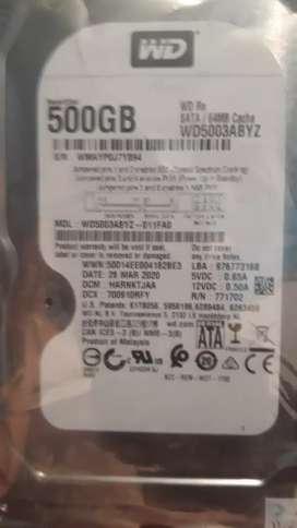 Disco duro nuevo para PC de 500g