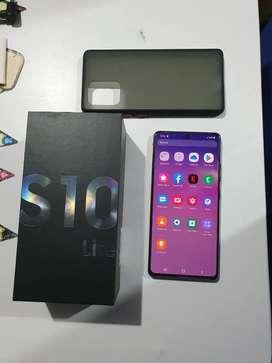 Samsung s10 lite en caja