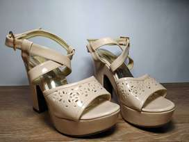 Remate Zapatos de Tacon con Plataforma Elegantes -Talla 36