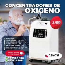 CONCETRADOR DE OXIGENO