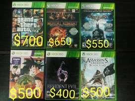 Vendo Juegos Originales Xbox 360.