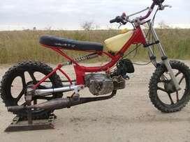 Vendo moto de competición 50cc Speddway