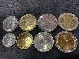 Colección de monedas (2012)