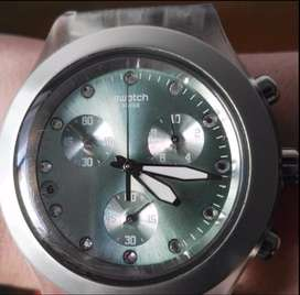 Liquido!!!Reloj SWATCH ORIGINAL VERDE DAMA