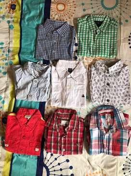 Camisas de marca para niño