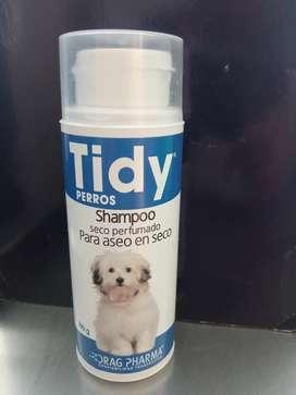 Shampoo seco perfumado