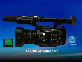 VENDO CÁMARA PROFESIONAL 4K  AG-UX90
