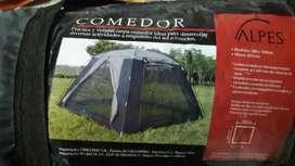 Vendo Comedor de Camping marca alpes