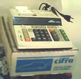 Máquina de Calcular Cifra  2117 con tira y visor