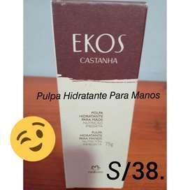 #PulpaHidratanteParaManos #Ekos #Castaña