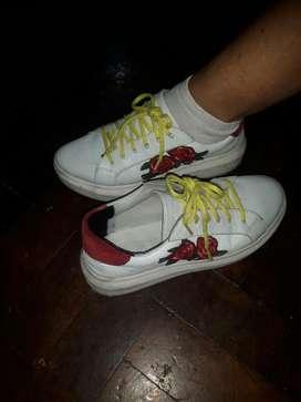 Zapatillas Eco Cuero