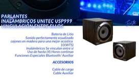 Parlantes Inalambricos Unitec USP999