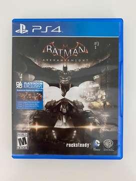 Videojuego Ps4 Batman Arkham Knight Fisico