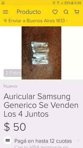 Auriculares Samsung genericos
