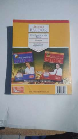Libro baldor tema de álgebra