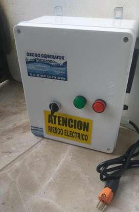 Generador De Ozono Aire Y  Envasar Agua  3gr/h