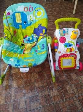 Venta de silla y Andador