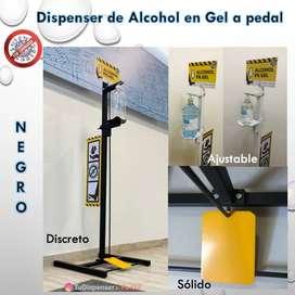Dispenser de sanitizante de manos a pedal