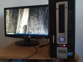 pc escritorio i3 impecable completa wifi 19 pugadas  window 10 500 gb de disco interno iotimo estado
