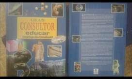 Dos Libros de Gran Consultor educar Enciclopedia Estudiantil