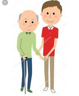 se ofrece cuidador para adulto mayor