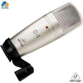 Microfono condensador, Mixer 2 canales, Cable profesional Microfrono TODO NUEVO