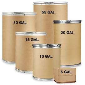 canecas, tanques de carton con tapa
