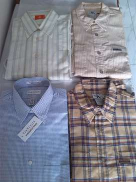 Camisas americanas para hombre.