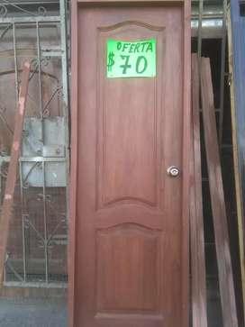 Puertas de promocion, dormitorio y baños